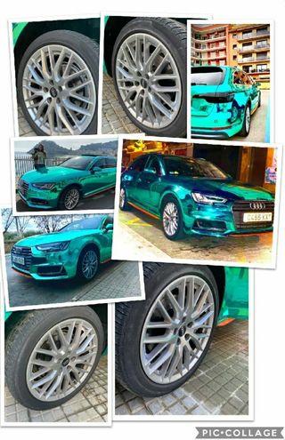 4 Llantas + 4 Neumáticos en perfecto estado