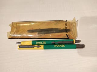 Juego pluma y bolígrafo bicolor Parker