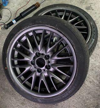 Llantas bmw pack M 18 con neumáticos nuevos