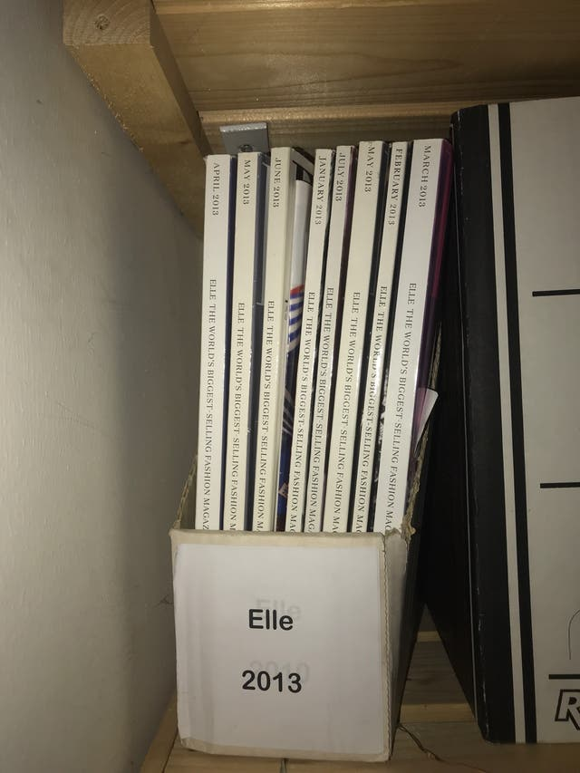 Bundle of Elle magazines