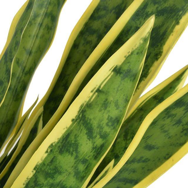 Planta sansevieria artificial con macetero 90 cm