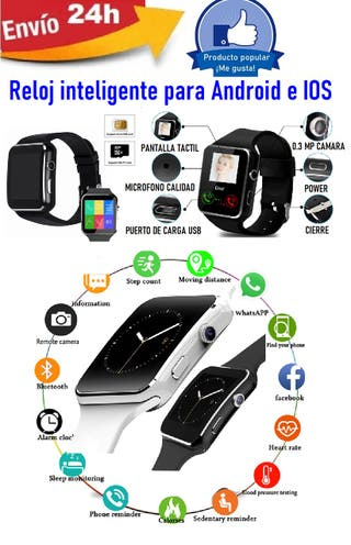 Reloj inteligente Smartwhach