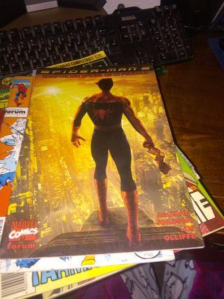 comic spiderman 2 adaptación de la pelicula