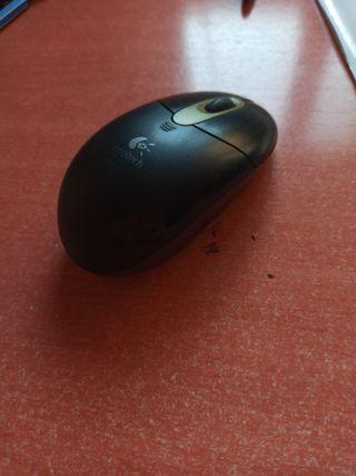 Ratón a pilas
