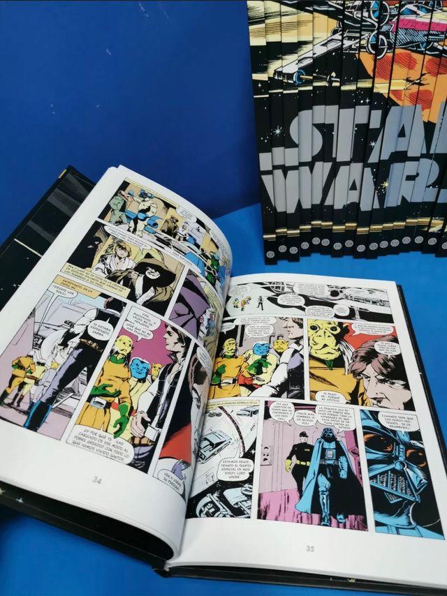 Colección Comics Star Wars leyendas.