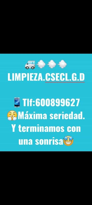 limpieza.csecl.g.d@gmail.com