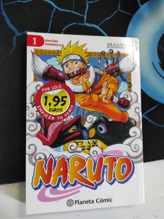 comic manga Naruto 1 uno