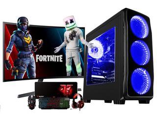 "PC GAMING RYZEN 7 | 24"" Curvo | KIT GAMING"