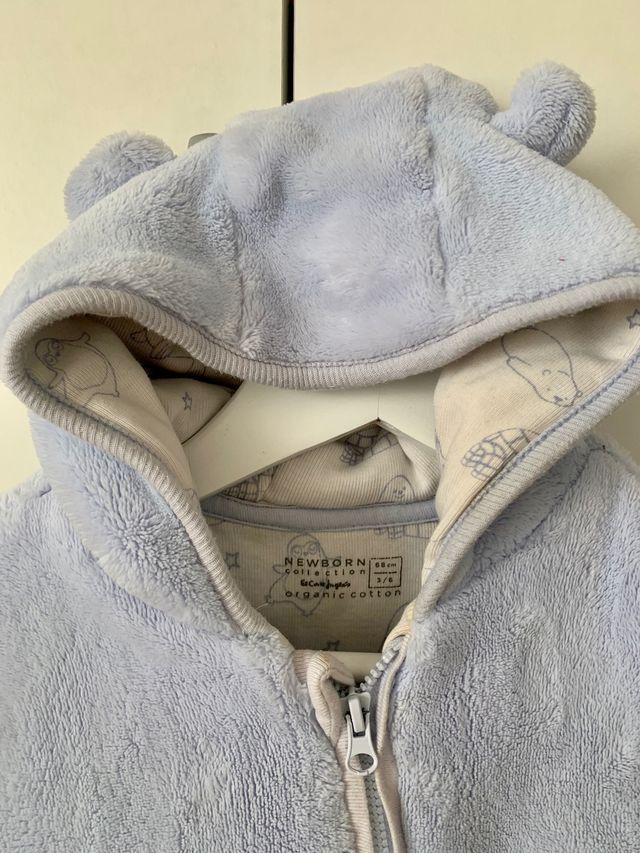 Buzo calentito invierno bebé de 3 a 6 meses