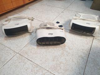 Vendo 3 calefactores portátiles