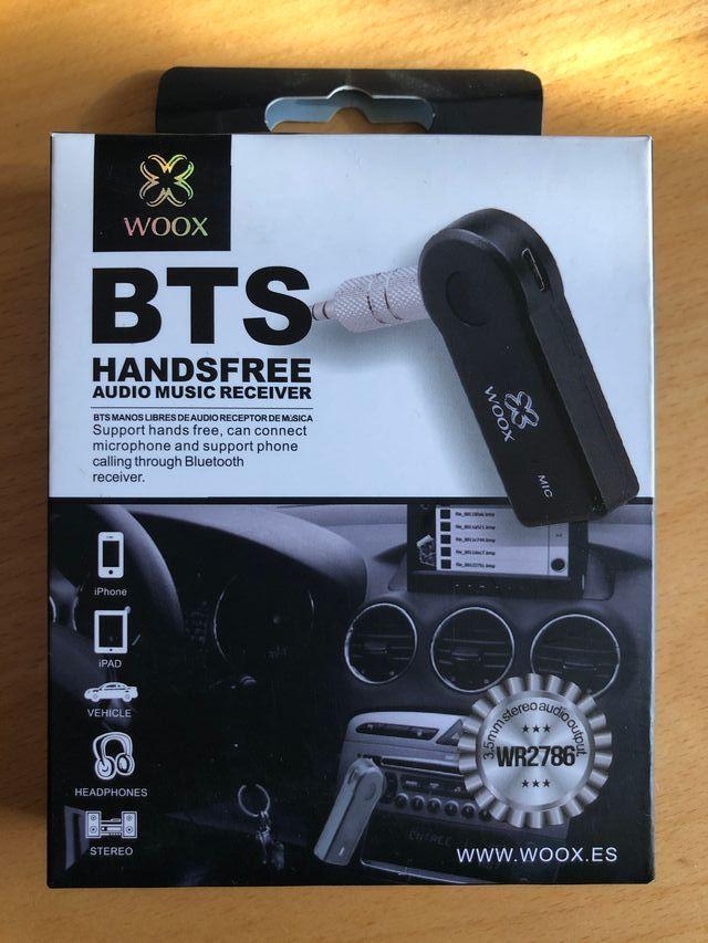 Receptor Bluetooth smartphone móvil tablet coche