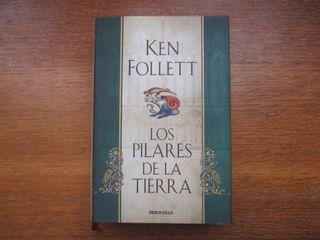 Libro Los pilares de la tierra (Ken Follett)