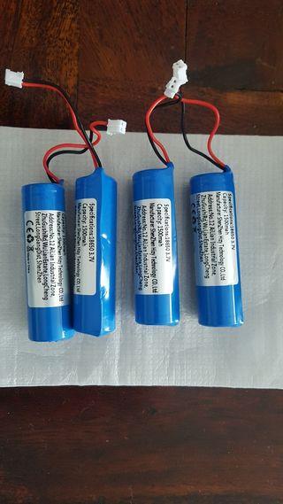 baterías recargables litio