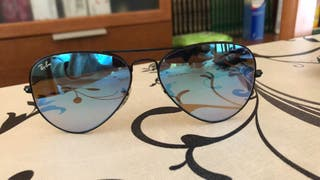 Ray Ban Aviator Mirror.