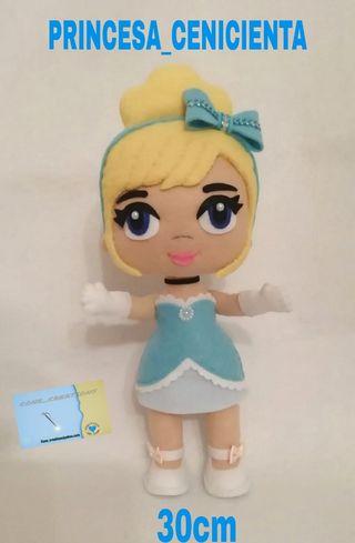 vendo muñeca princesa cenicienta moderna