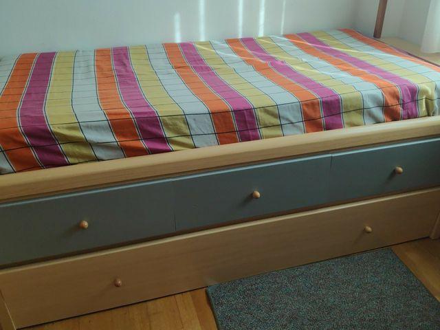 modulo de doble cama