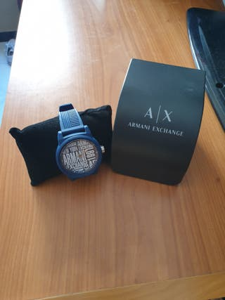 vendo reloj deportivo azul Armani Exchange