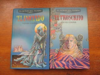 Libros El iniciado y El proscrito (Luise Cooper)