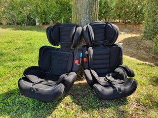 Dos sillas para coche. Grupo 2/3.
