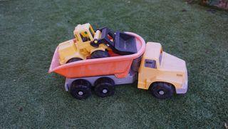 Camion y tractor