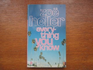 Libro en inglés. Everything you know (Zoë Heller)