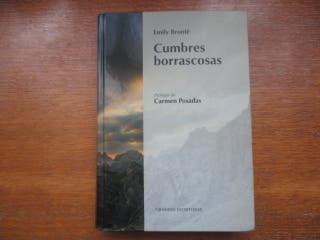 Libro Cumbres Borrascosas (Emily Brontë)