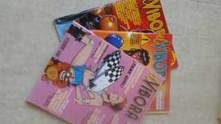 comics el víbora. 3 ejemplares