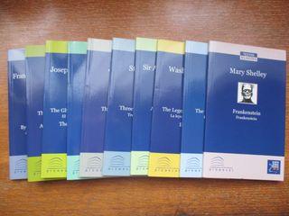 Libros en inglés y español (10 libros)