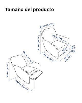 Sillón relax reclinable