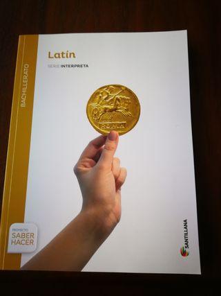 Libro de Latin de 1°de Bachillerato