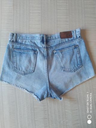 Vaqueros cortos de Zara