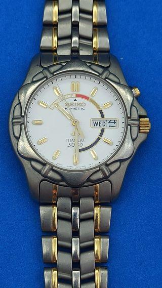 Reloj Seiko kinetic para caballero
