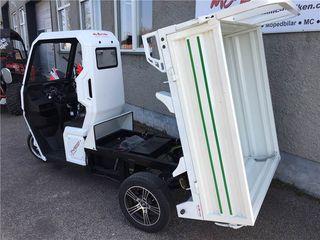 Motocarro eléctrico de carga