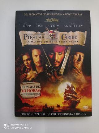película DVD: Pirata del Caribe