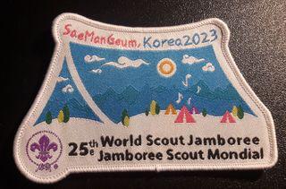 Insignia del próximo World Scout Jamboree.