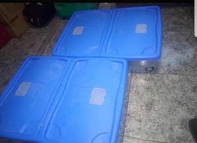 Caja almacenaje bajo cama