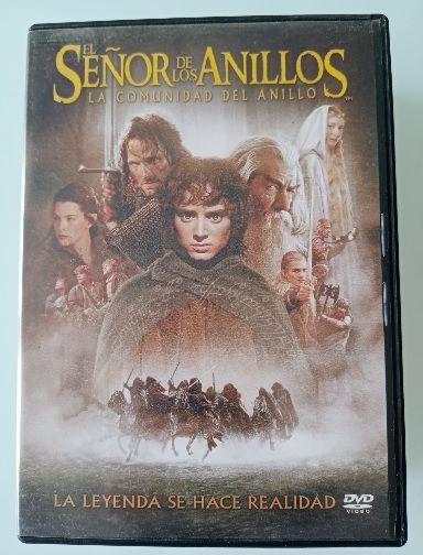 El señor de los anillos. pelicula dvd