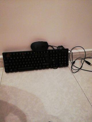 teclado y raton gamer/gaming