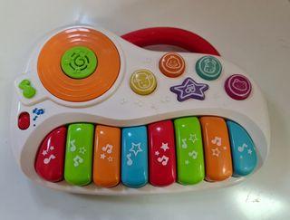 Órgano musical infantil seminuevo