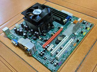 PACK placa base+CPU+RAM