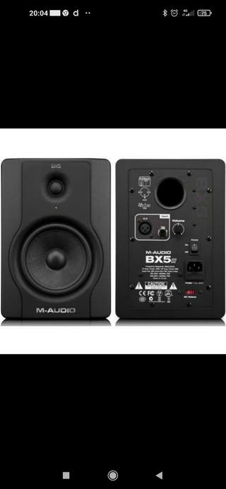 VENDO o CAMBIO monitores M audio Bx5 D3