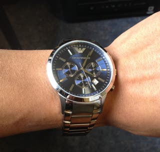 Reloj Emporio Armani Acero Inoxidable Cuarzo
