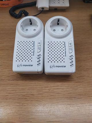 adaptador plc pareja