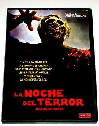 DVD LA NOCHE DEL TERROR (MASACRE ZOMBI)