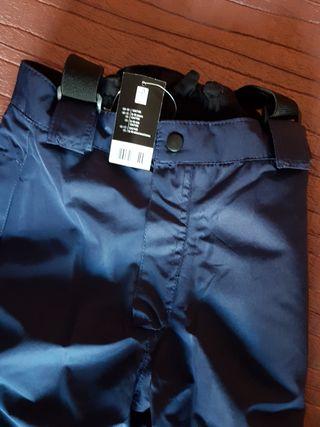 Pantalon de nieve-esquí T.8-10