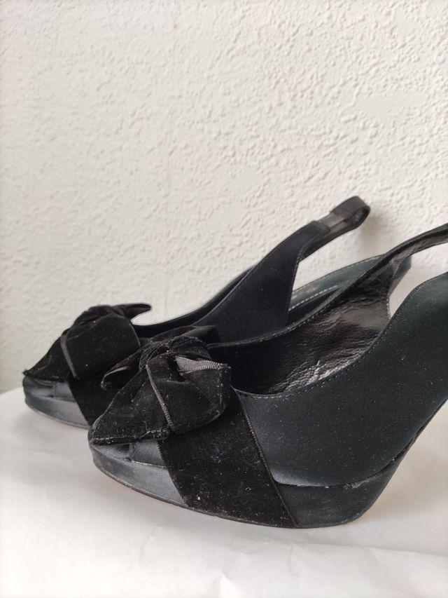 Sandalias negras talla 36