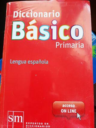 DICCIONARIO BASICO PRIMARIA