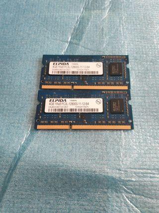 Memoria RAM SO-DIMM 8GB (2 x 4GB) DDR3