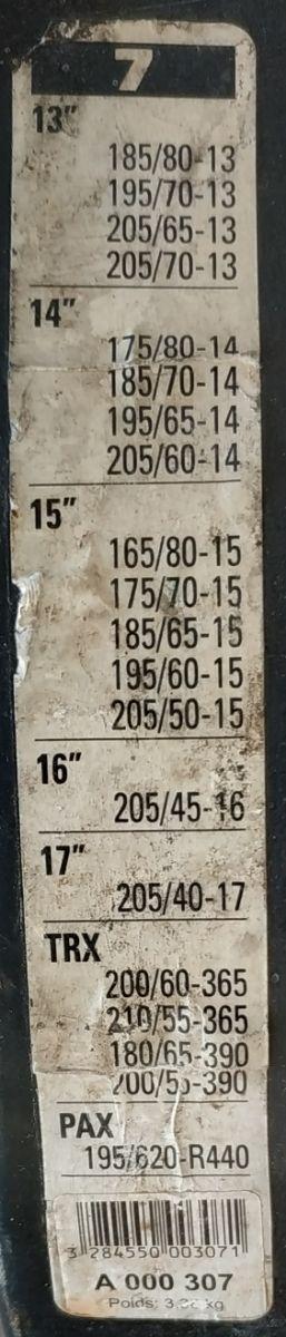 """CADENAS NIEVE MICHELIN MULTI-MEDIDA DE 13"""" A 17"""""""