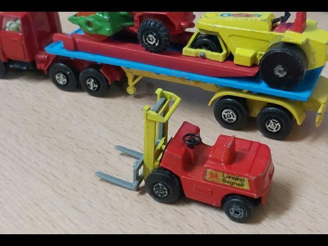 Camión FORD metal MATCHBOX año 1071
